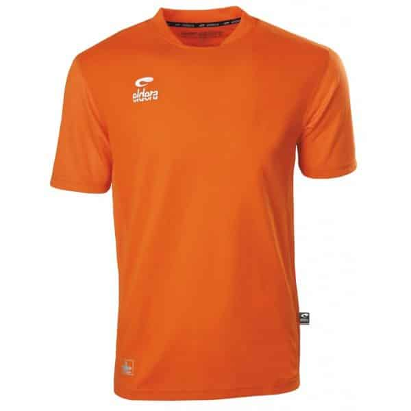 maillot orange eldera manches courtes