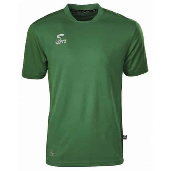 maillot vert eldera manches courtes