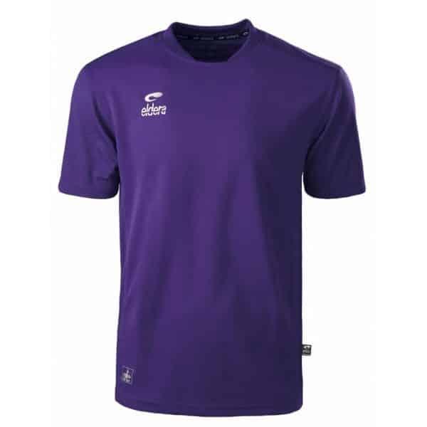 maillot violet eldera manches courtes