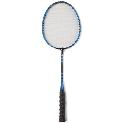 Raquette de badminton avec tige raccourcie pour faciliter les apprentissages et la découverte du badminton, en école primaire et au collège