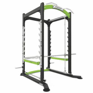 Cage à squat et cadre guide