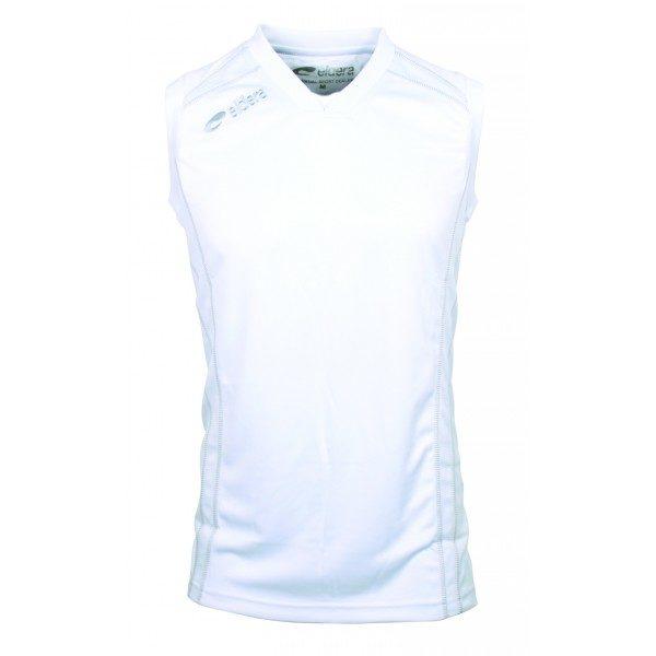 maillot basket manche courte blanc eldera