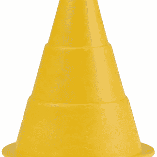 cone souple jaune