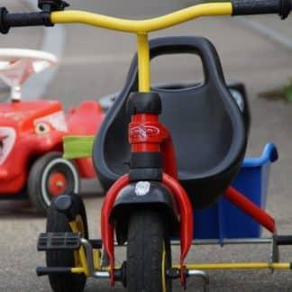 Tricycles -Jeux de cours