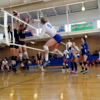 Poteaux de volley ball