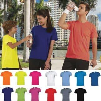 820530-820531-Tee-shirt technique polyester 150gr
