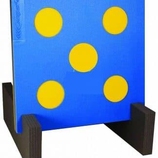Cible bleu 60 x 60 cm