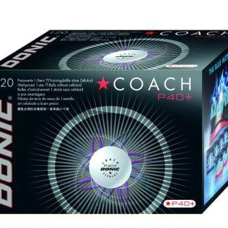Balle de tennis de table Donic Coach- 1 étoile-Carton de 120 balles