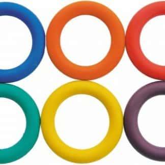 anneaux couleurs orange bleu rouge jaune vert violet