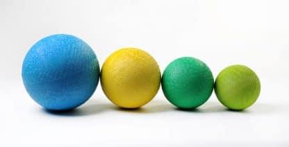 Ballon scolaire caoutchouc