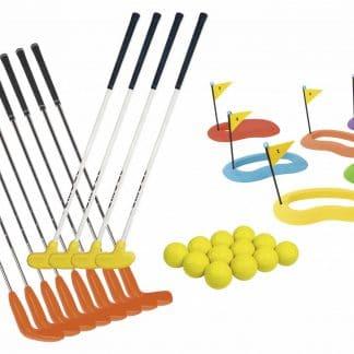 Kit initiation golf , putter, balles, et cibles