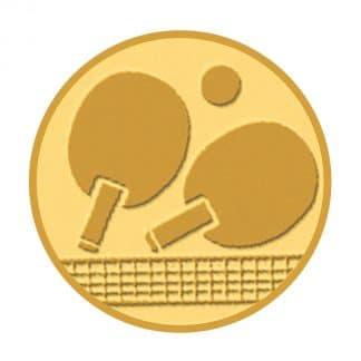 médaille dorée ping pong