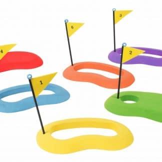 Cibles de golf en mousse numéros