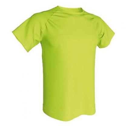 T-shirt technique 100% polyester- Vert Pistache