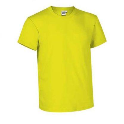 Tee-shirt enfant jaune-fluo