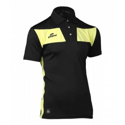 polo noir et jaune